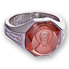 Православные кольца с молитвой и перстни